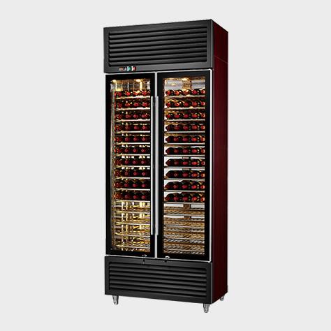 红黑经典款红酒展示柜